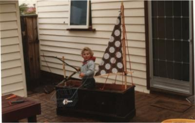 Phillip's first boat