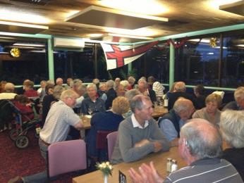The non-cruise dinner success at the Riverview Bistro Nicholson with a crowd of 63