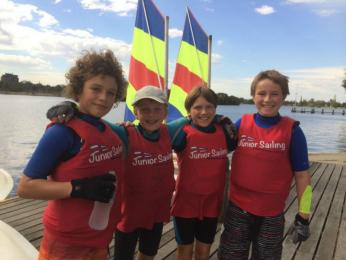 School Sailing Feb. 2015 Albert Park Lake
